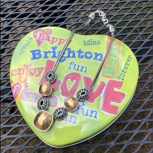 Beautiful Gold & Silver Brighton Necklace